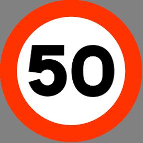 50 km h: