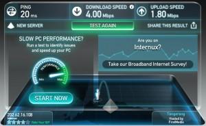 Bolt Speed Test