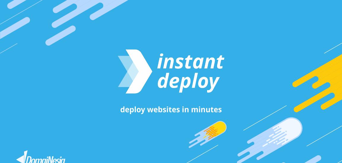 Instant Deploy Domainesia